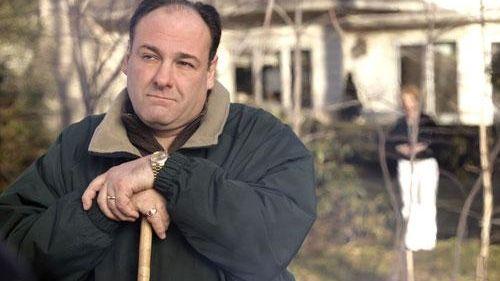 James Gandolfini as Tony Soprano in HBO's
