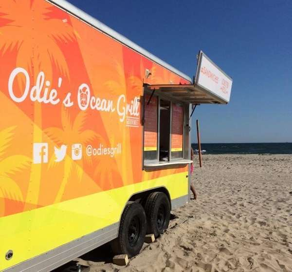 Odie's Ocean Grill is a food truck on