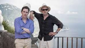 "Rob Brydon, left, and Steve Coogan in ""The"