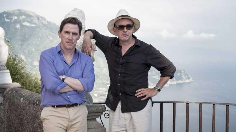 Rob Brydon, left, and Steve Coogan in
