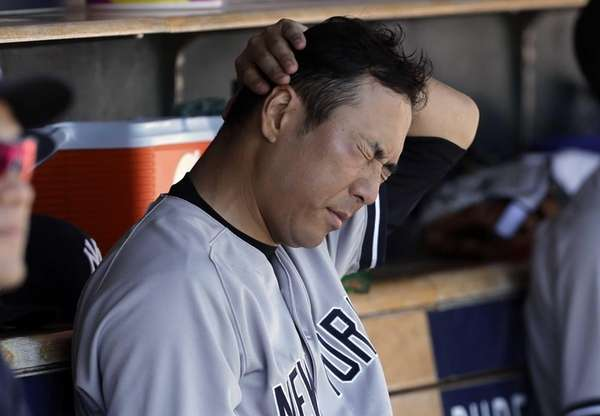 Yankees Tigers Baseball