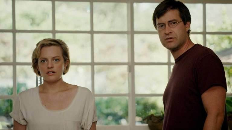 Elisabeth Moss as Sophie and Mark Duplass as