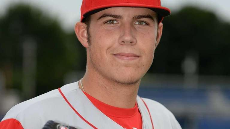 Brooklyn Cyclones pitcher Brad Wieck (31) poses for