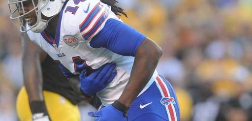 Buffalo Bills wide receiver Sammy Watkins (14) holds