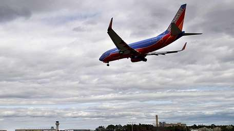 The number of times U.S. airplanes nearly collided