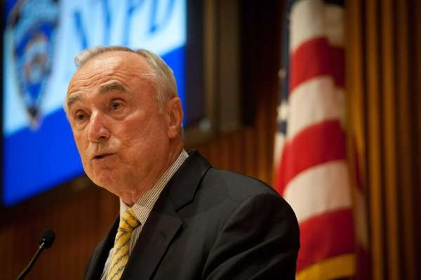 New York Police Commissioner William Bratton discusses crime