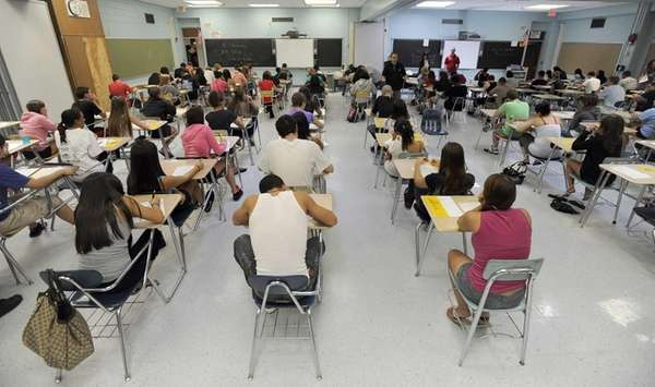 Ninety-seven percent of Long Island's public school teachers