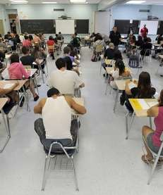 Ninety-seven percent of Long Island's public school teachers