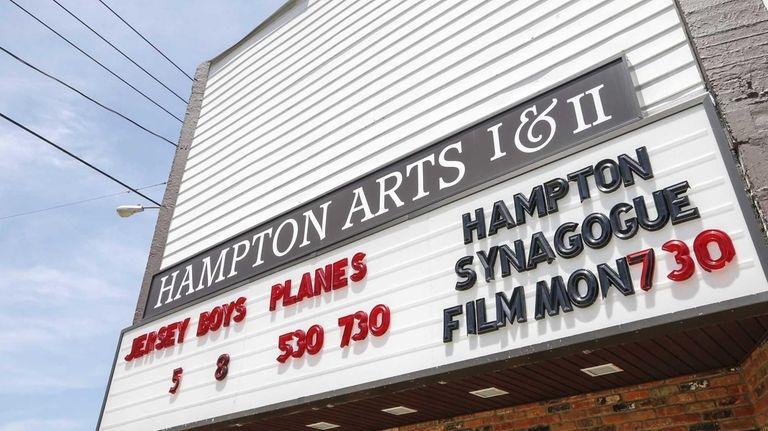 The two-screen Hampton Arts Cinema, in Westhampton Beach,