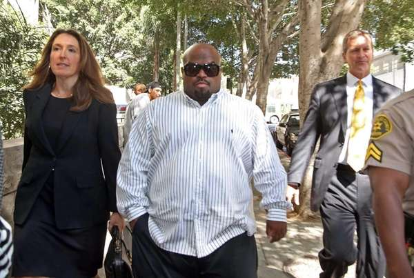 Entertainer Cee Lo Green leaves Los Angeles Superior