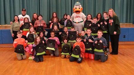 QuackerJack will visit four Long Island schools.
