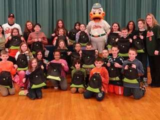 QuackerJack will visit four Long Island schools.