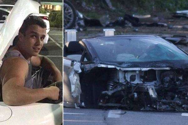 samuel shepard, 18, killed in lamborghini test-drive crash, cops