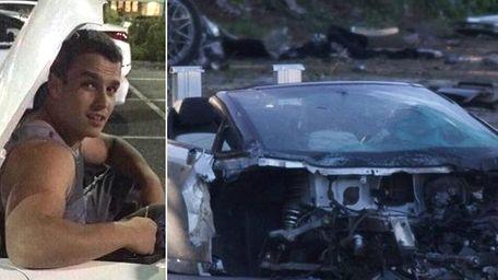 Sam Shepard, 18, died after crashing a Lamborghini