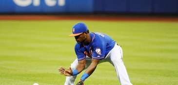 Mets second baseman Dilson Herrera makes his first