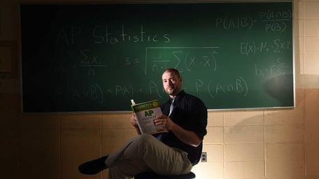 Hicksville High School Advance Placement Statistics teacher Brian