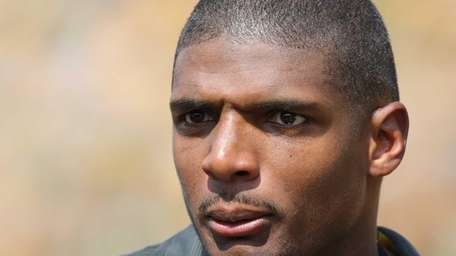 Former Missouri Tiger Michael Sam attends a game