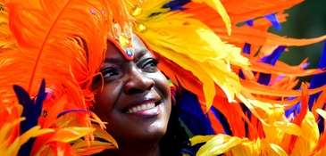Scenes from the West Indian Day Parade on