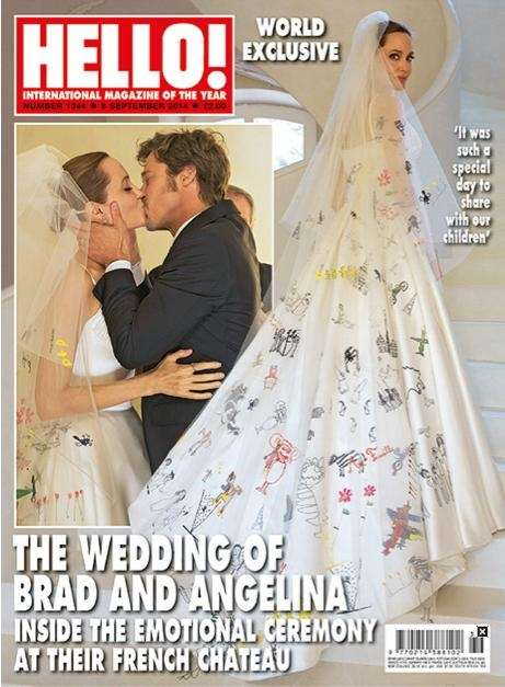 The September 2014 issue of the UK's Hello!
