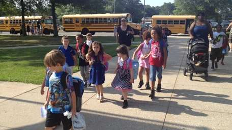 Back to school at Tangier Smith Elementary School