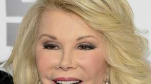 Joan Rivers attends an E! Network event in