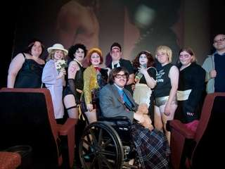 "The ZEN Room ""Rocky Horror"" shadow cast troupe"