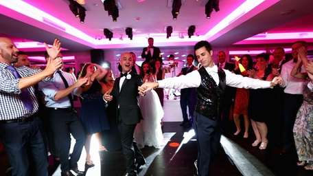 The couple's first dance was to John Legend's