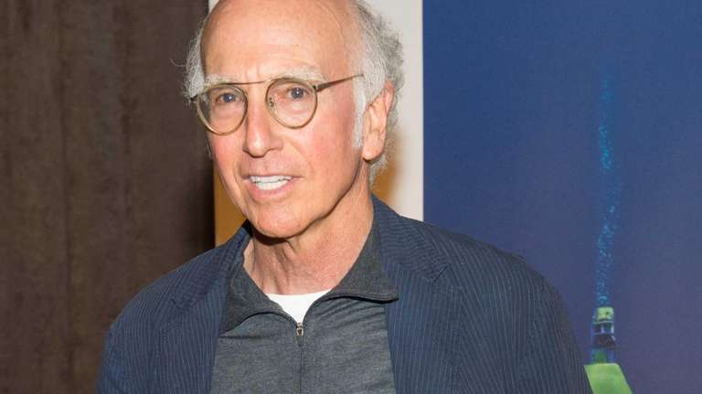 Larry David attends the U.S. premiere of National