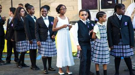 School uniforms worn by students of Academy Charter