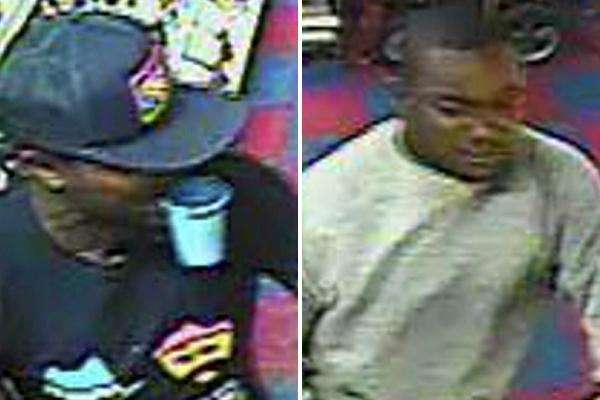 Nassau police released video surveillance photos of two