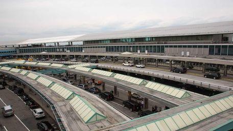 Central terminal at LaGuardia Airport on April 11,