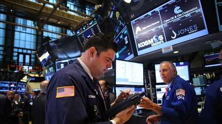 Markets gained early Wednesday, Sept. 3, 2014, after