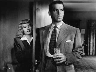 "Barbara Stanwyck and Fred MacMurray star in ""Double"