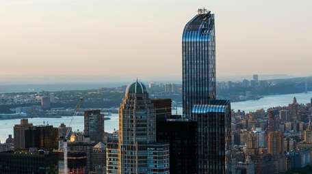 Since it topped out in June 2012, One57