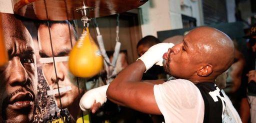 LAS VEGAS, NV - SEPTEMBER 02: Boxer Floyd