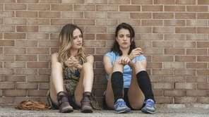 Emily Mead as Aimee and Margaret Qualley as