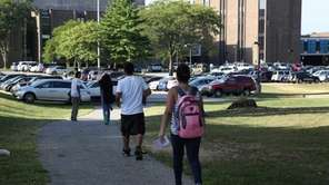 First day of school at Hempstead High School
