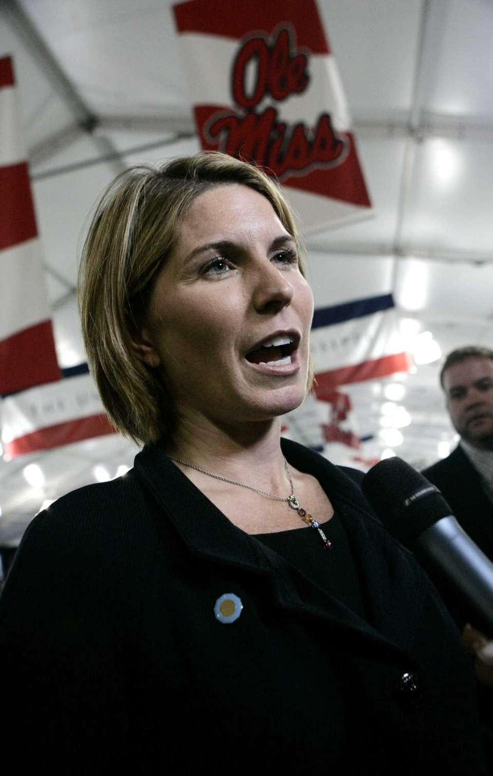Nicolle Wallace, a political commentator and former adviser