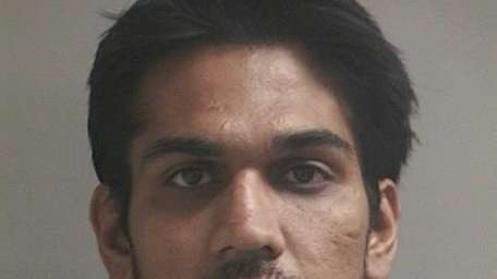 Adeel Riaz, 28, of Hicksville, was arrested on