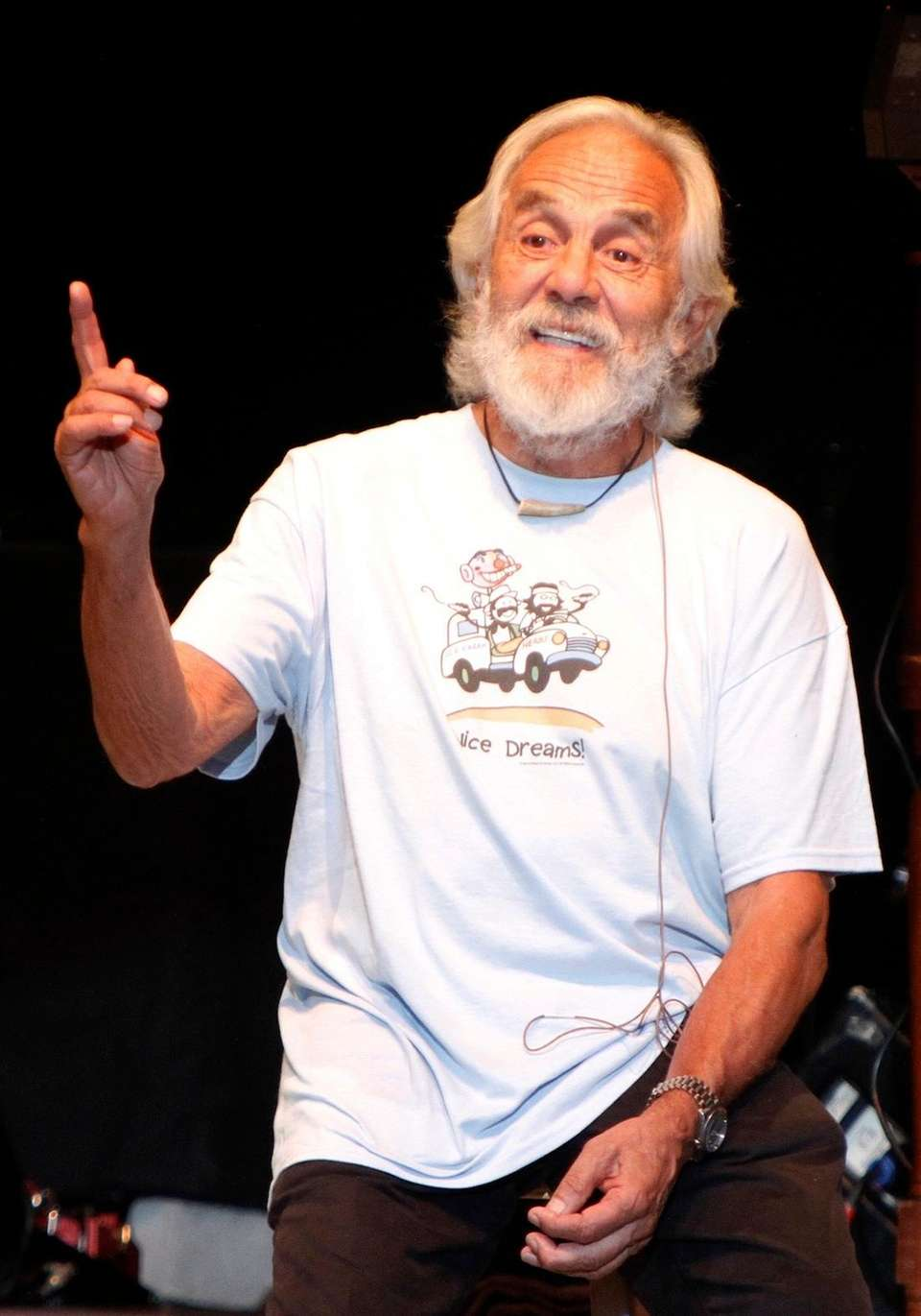 Comedian and actor Tommy Chong, most recognized as
