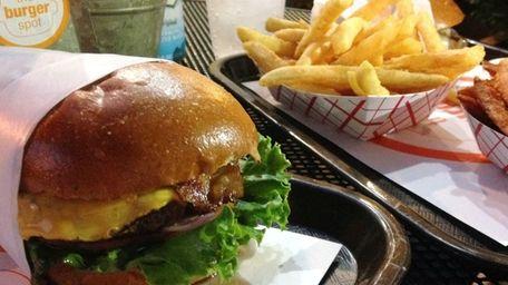 At The Burger Spot in Garden City, a