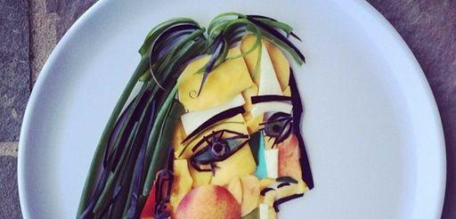 Picasso - Mango, Nectarine, Peppers, Scallions, Eggplant, Turnip,