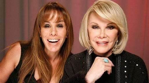 Mother-daughter duo Joan Rivers and Melissa Rivers had