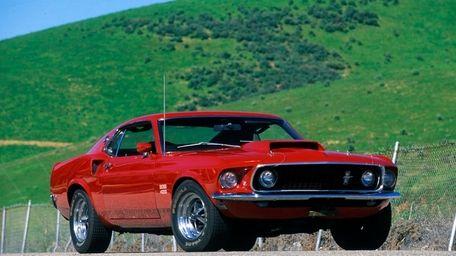 The 1969 Mustang Boss.