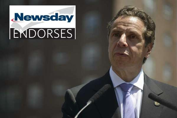 Governor Andrew M. Cuomo speaks during a news