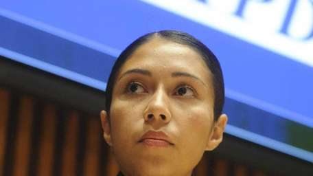 New York City Police Department Sergeant Andrea Cruz