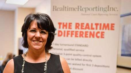 Ellen Birch, president of Realtime Reporting Inc., says