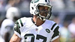 Jets wide receiver Eric Decker is seen prior