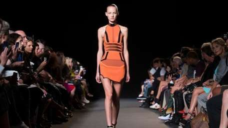 The Alexander Wang Spring 2015 collection is modeled
