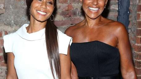 Jada Pinkett-Smith and her mother, Adrienne Banfield-Jones, at